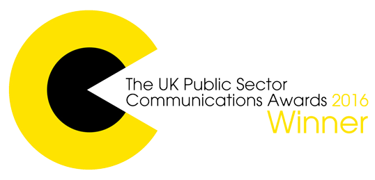 UK Public Sector Communications Awards 2016 Winner