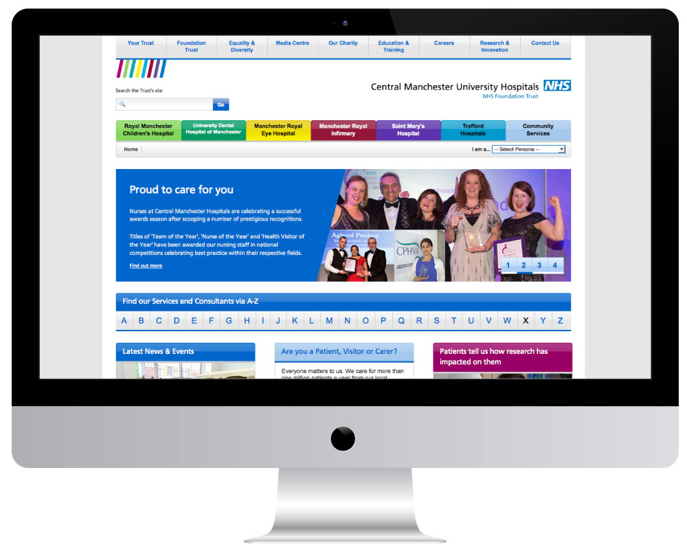 CMFT homepage
