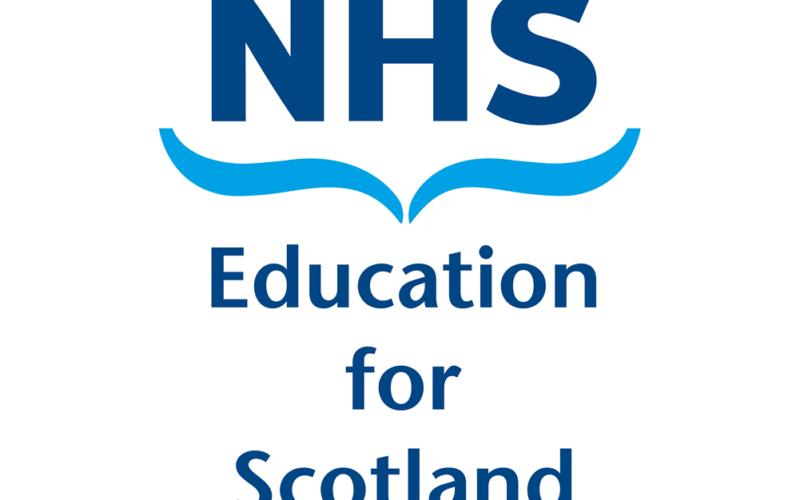 NHS Education for Scotland logo