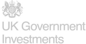 UK Government Investments greyscale logo