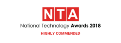 National Technology Awards 2018 Highly Commended