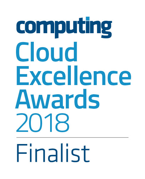 Computing Cloud Excellence Awards 2018 Finalist logo