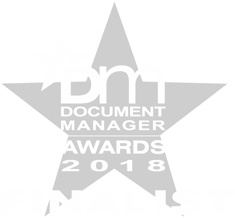 Document Manager Awards 2018 finalist logo