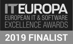 IT Europa European IT & Software Excellence Awards 2019 finalist logo