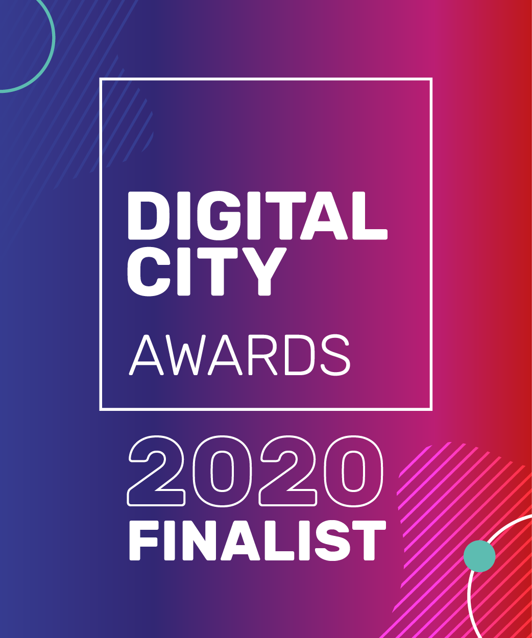 Digital City Awards - 2020 Finalist