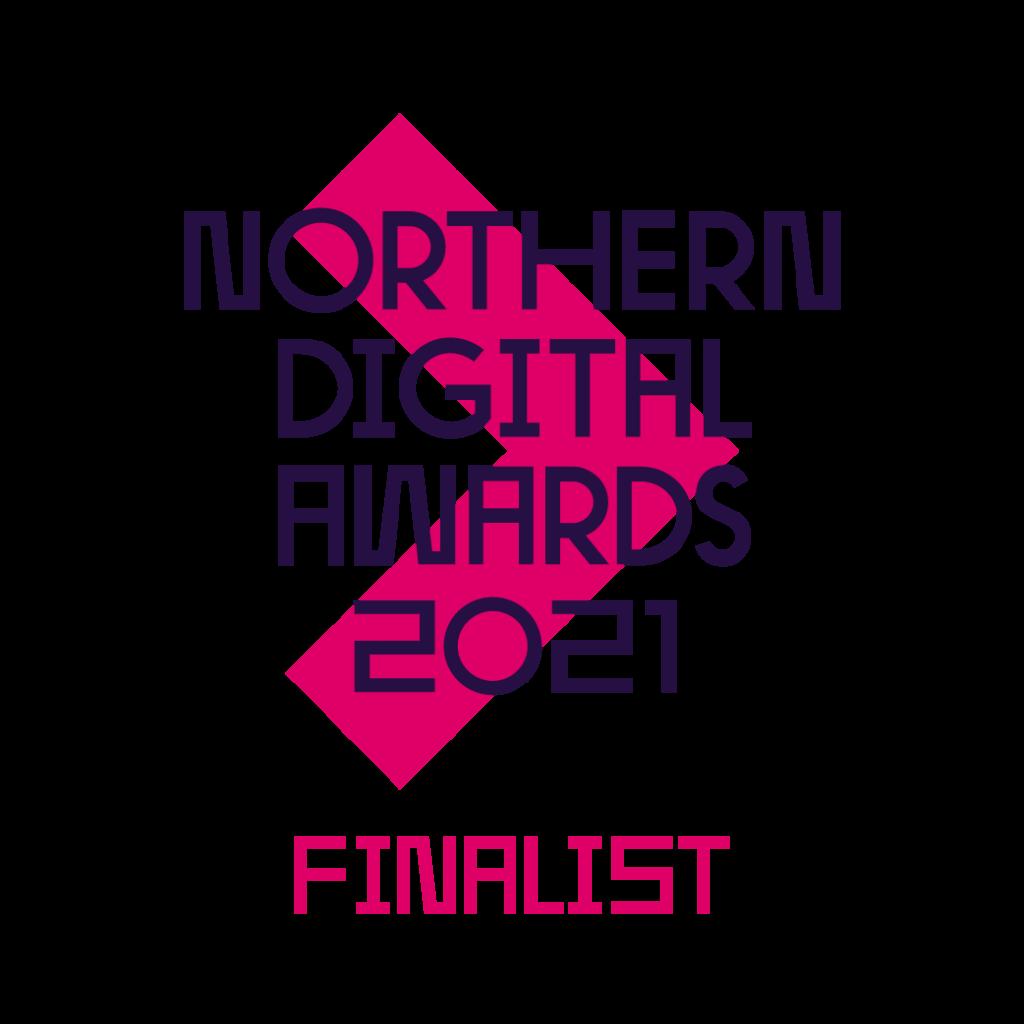 Northern Digital Awards 2021 finalist logo